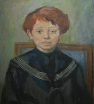 Portrait of Child - 1956