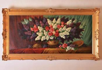 Still Life with Flowers - 1950