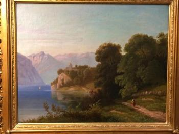 Romantic Landscape - 1860